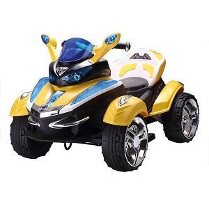 Электроквадроцикл , желтый (свет, звук) Bugati