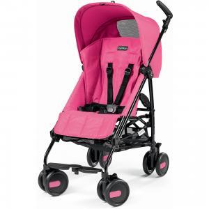 Коляска-трость Peg-Perego Pliko Mini с бампером, Mod Pink Peg Perego
