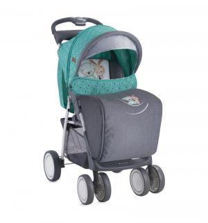 Прогулочная коляска  Foxy, цвет: серый/зеленый Lorelli