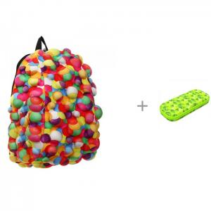 Рюкзак Bubble Half Dont burst 36 см с пеналом Zipit Colorz Box MadPax