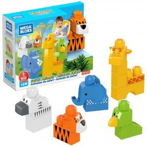 Конструктор  Набор из 5 животных Mega Bloks