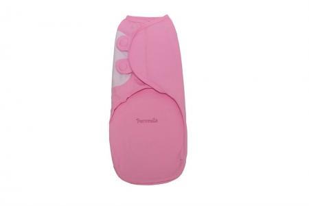 Пеленка SwaddleFun XL, цвет: розовый Pecorella