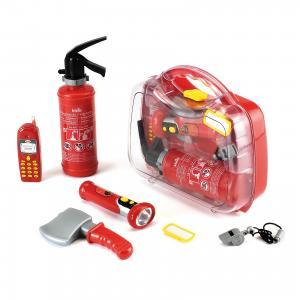 Игровой набор Klein Чемодан пожарного, 7 предметов