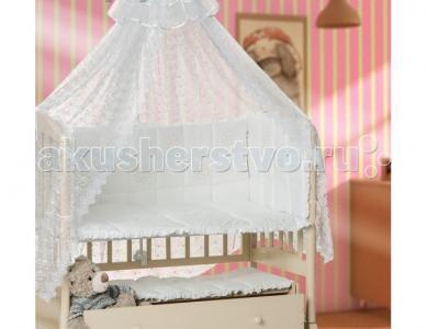 Комплект в кроватку  Ромашки (7 предметов) Мой Ангелок