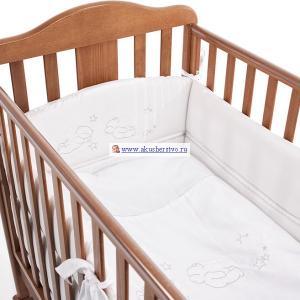 Комплект в кроватку  Brillante (5 предметов) Bambolina