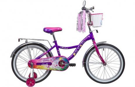 Велосипед двухколесный  Little Girlzz 20 Novatrack