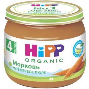 Пюре  морковь с 4 месяцев, 80 г Hipp