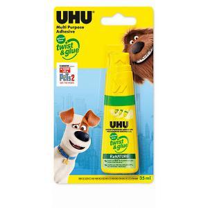 Клей универсальный  Twist & glue Домашние животные 2, 35 мл UHU. Цвет: разноцветный