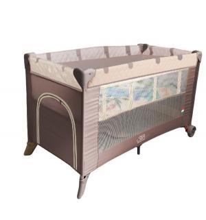 Манеж-кровать  5 в 1 Intelletto, цвет: Cacao Sweet Baby