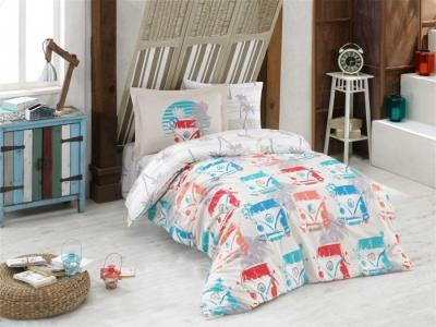 Постельное белье  Renata 1.5-спальное Евро (4 предмета) Hobby Home Collection