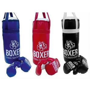 Игровой набор для бокса Боксер  №4, 60 см Лидер