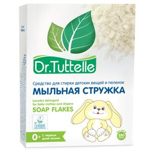 , Стружка мыльная для стирки вещей и пеленок, (350 г) Dr.Tuttelle