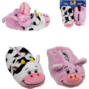 Вывертапки  Корова-Свинья, 31-33 см 1Toy. Цвет: разноцветный