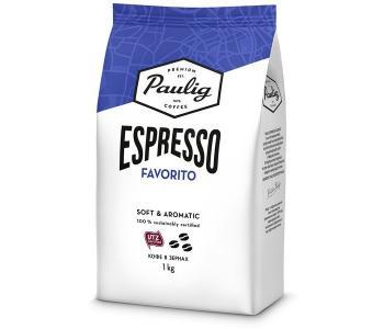 Кофе Espresso Favorito зерно 1 кг Paulig