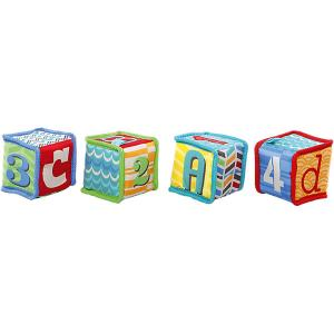 Мягкие кубики Bright Starts Весёлая учёба Kids II