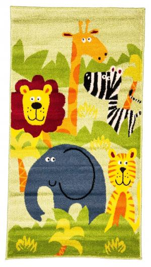 Ковер Bambino  с рисунком Африка, размер 117х170 Sai Carpets