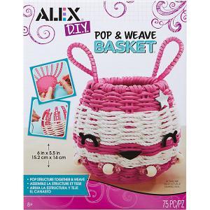 Набор для творчества Alex «Для плетения корзинки»