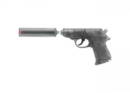 Пистолет Специальный Агент PPK 25-зарядные Gun с глушителем Sohni-wicke
