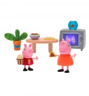 Игровой набор  Пеппа и Мама смотрят фильмы Peppa Pig