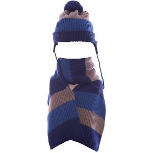 Комплект : шапка и шарф Wojcik. Цвет: серый