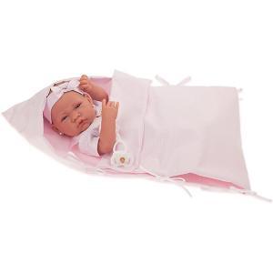 Кукла-младенец  Матильда, 42 см Munecas Antonio Juan. Цвет: розовый