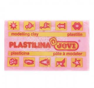 Пластилин  50гр розовый Jovi