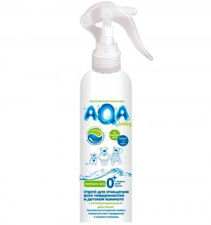 Спрей для любых поверхностей AQA baby антибактериальный, 300 мл