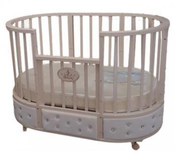 Кроватка-трансформер  Лидер 8 в 1 (маятник универсальный) Baby Luce