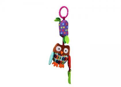 Подвесная игрушка  со звоночком Совенок Uviton