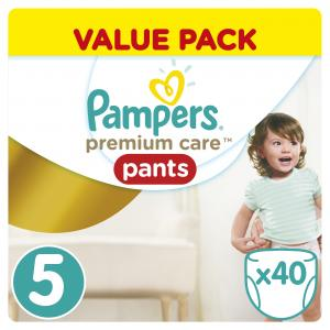 Трусики  Premium Care Pants 5 размер (11-18 кг) 40 шт. Pampers