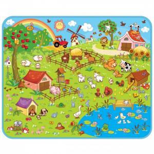 Игровой коврик  Ферма 130х160х0.5 см Mambobaby