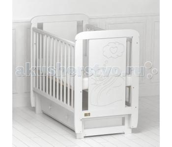 Детская кроватка Kitelli Amore поперечный маятник (Kito)