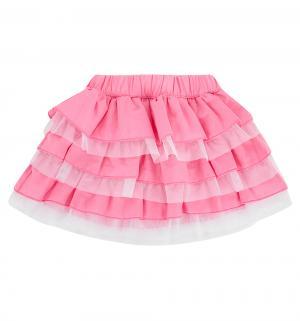 Юбка , цвет: розовый/белый Semicvet