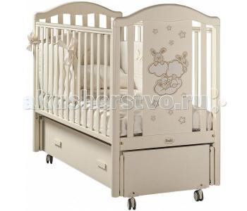 Детская кроватка  Romance Swing продольный маятник Feretti
