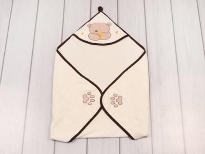 Полотенце с уголком Teddy Bear AmaroBaby