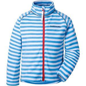 Демисезонная куртка Didriksons Monte Print. Цвет: синий