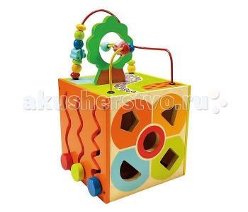 Деревянная игрушка  многофункциональный куб 84189 Bino