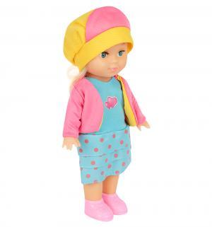 Кукла  в желтой шляпе 25 см S+S Toys