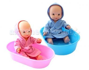 Пупс в ванночке Пластмастер