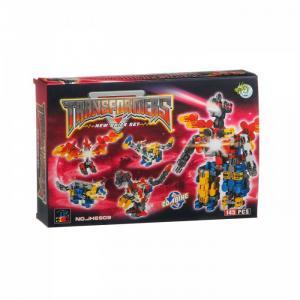 Конструктор  Toys Страйп Трансформер-робот JH6909 (145 элементов) Dragon
