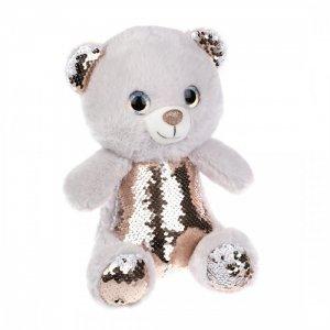 Мягкая игрушка  Мишка с пайетками 27 см Fluffy Family