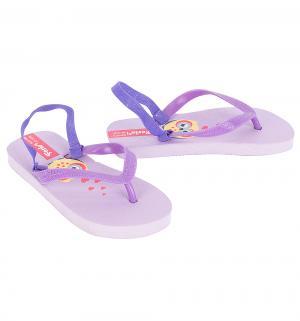 Шлепанцы , цвет: фиолетовый Forio