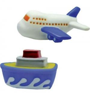 Набор для купания  Самолет и пароход, 10 см Жирафики