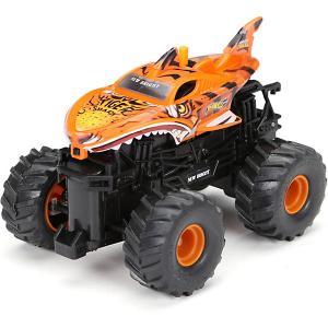 Радиоуправляемая машинка  Monster Truck 1:43, оранжевая New Bright. Цвет: оранжевый