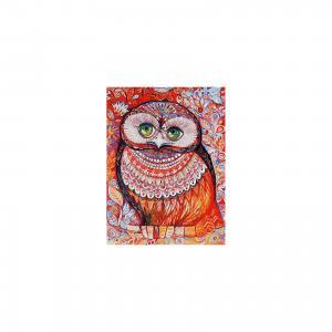 Живопись на холсте Медовая сова 30*40 см Белоснежка