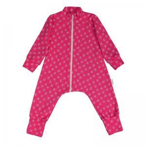 Комбинезон  Цветочный луг, цвет: розовый Bambinizon