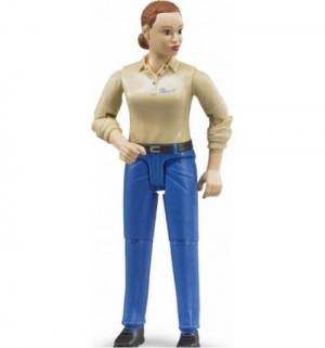 Фигурка  Женщина в голубых джинсах 11 см Bruder
