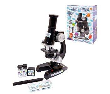 Микроскоп 100х 200х 400х Junfa