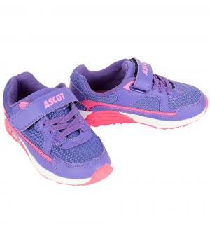 Кроссовки  Maxim, цвет: фиолетовый/розовый Ascot