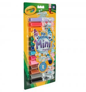 Маркеры-мини  смываемые 14 шт. Crayola